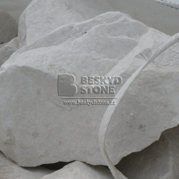 Dekorační kámen mramor thassos lomový kámen
