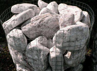 Dekorační omílaný kámen dolomit růžovobílý