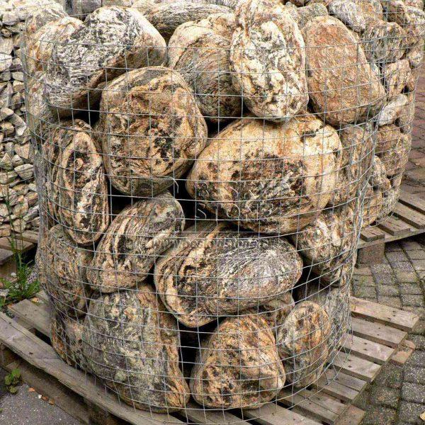 Dekorační kámen omílaný zlazošedý gneis