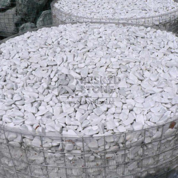 Dekorační kámen omílaný mramor thassos
