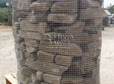 Zídkový kámen Andezit štípaný-koš