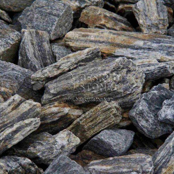 Lomový kámen výběrový zkamenělé dřevo